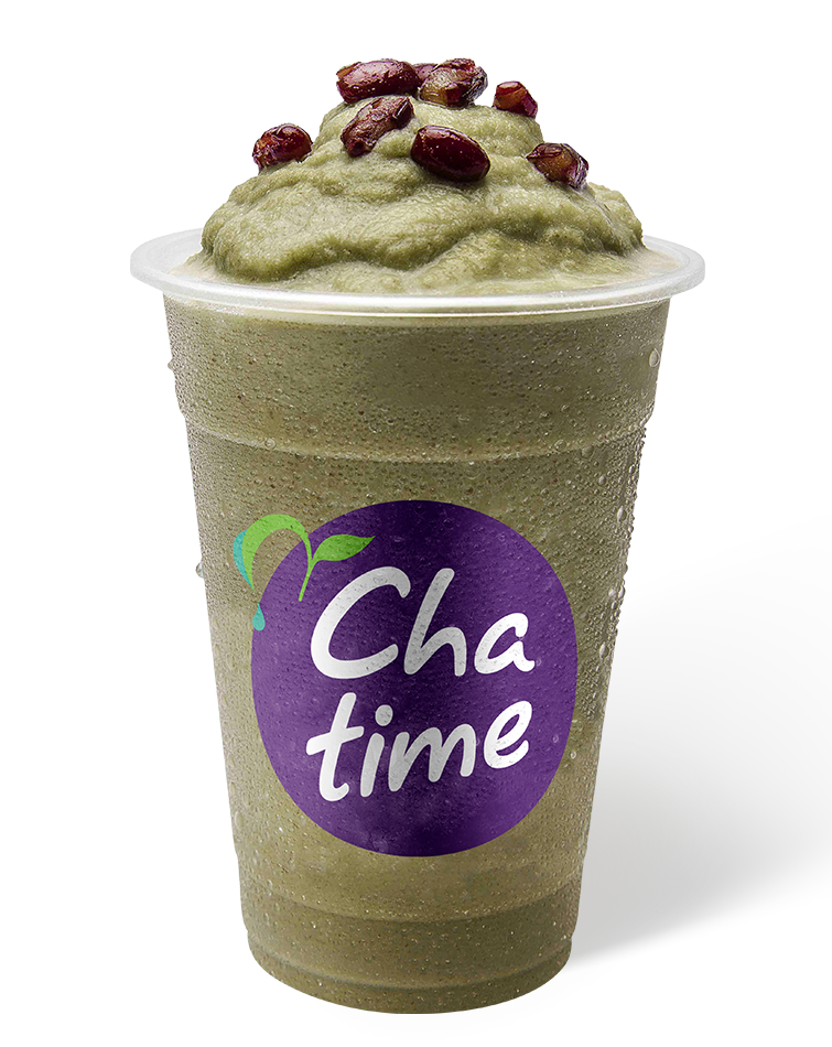 Matcha Red Bean Frozen Tea