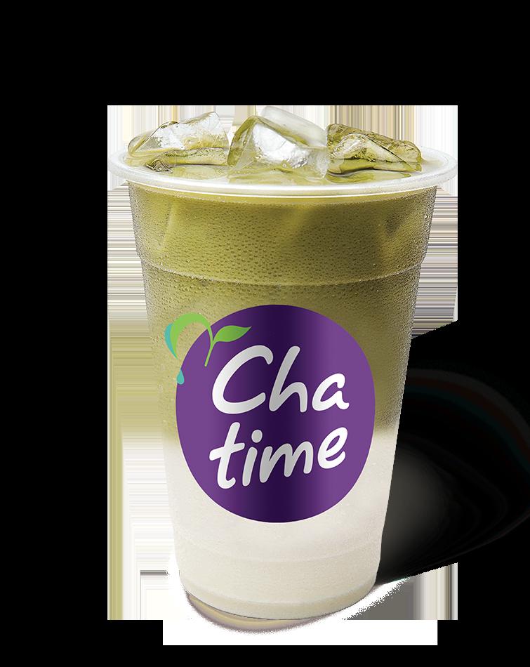 Matcha Latte Milky Iced Tea